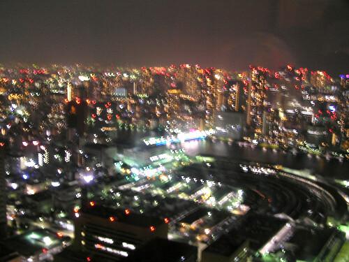 夜景@カレッタ汐留46階から