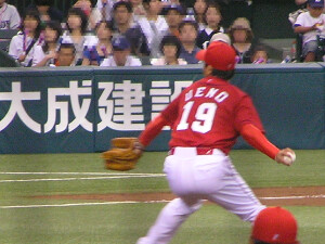 上野弘文投手