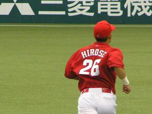 廣瀬純外野手